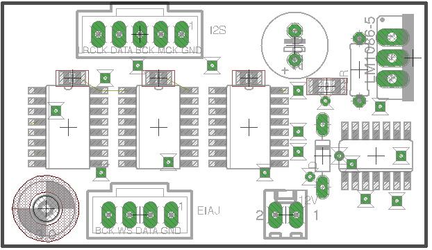 I2S to EIAJ glue-logic digital-audio converter -- help